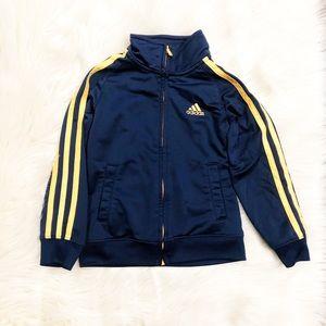 Adidas zipped sweatshirt